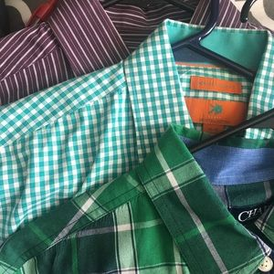 Men's dressy button up shirts